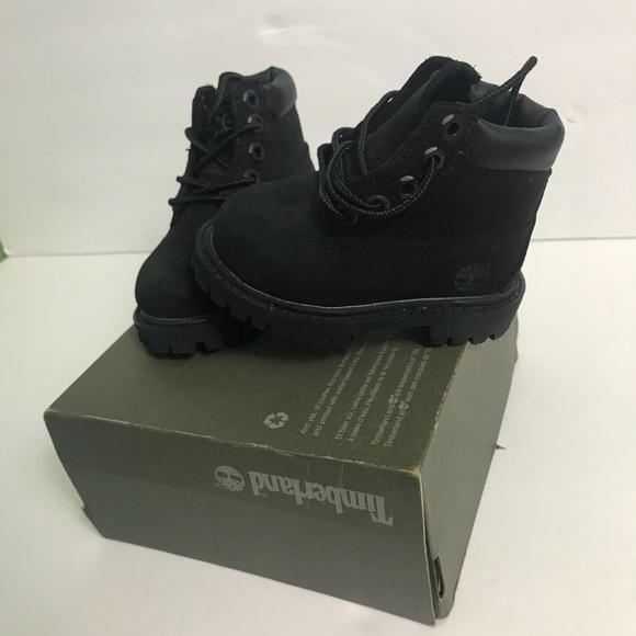 6in Premium Boot Black
